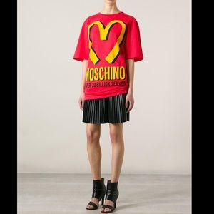 MOSCHINO COUTURE Jeremy Scott McDonald's Tee